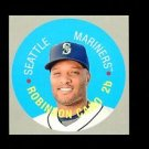 2017 Topps Heritage Baseball 1968 Topps Disc Card #68TDC-13  Robinson Cano