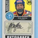 2008-09 ITG Heroes & Prospects Autograph Draft Day Pick  Jacob Josefson  #A-JJO