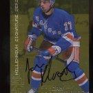 1999-2000 ITG Millennium Signature Series Autograph GOLD  #164  Jan Hlavac