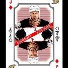 2016-17 OPC O-Pee-Chee Hockey  Playing Card  Jack of Diamonds  Ryan Getzlaf