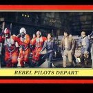 2016 Topps Star Wars Rogue One Mission Briefing  #104  Rebel Pilots Depart