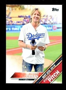 2016 Topps Baseball Update Series First Pitch  #FP-5  Keith Urban