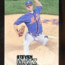 2016 Topps Baseball Stadium Club  Black Foil  #26  Steven Matz