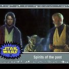 2015 Topps Journey to Star Wars Force Awakens Silver #80  Spirits of the past