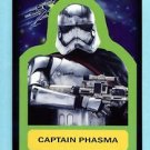 2015 Topps Journey to Star Wars Force Awakens  Sticker  #S-10  Captain Phasma