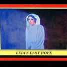2016 Topps Star Wars Rogue One Mission Briefing  #28  Leia's Last Hope