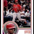 2018 Topps Baseball Series 1  1983 Insert #83-55  Justin Upton