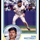 2018 Topps Baseball Series 1  1983 Insert #83-56  Don Mattingly