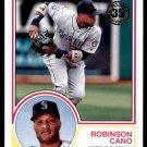 2018 Topps Baseball Series 1  1983 Insert #83-64  Robinson Cano