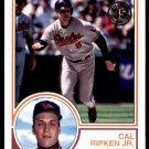 2018 Topps Baseball Series 1  1983 Insert #83-39  Cal Ripken Jr.