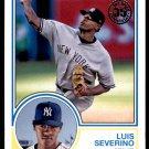 2018 Topps Baseball Series 1  1983 Insert #83-28  Luis Severino