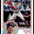 2018 Topps Baseball Series 1  1983 Insert #83-4  Mookie Betts