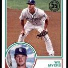 2018 Topps Baseball Series 1  1983 Insert #83-94  Wil Myers