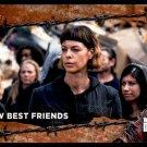 2017 Topps The Walking Dead Season 7 RUST Parallel #58  New Best Friends