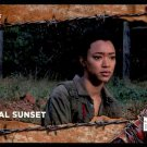 2017 Topps The Walking Dead Season 7 RUST Parallel #100  Final Sunset