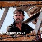 2017 Topps The Walking Dead Season 7 RUST Parallel #73  Wheel of Misfortune