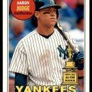 2018 Topps Heritage Baseball #25  Aaron Judge  NY Yankees