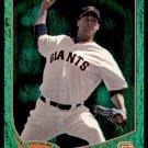 2013 Topps Baseball Emerald Foil Parallel #132  Ryan Vogelsong