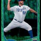 2013 Topps Baseball Emerald Foil Parallel #159  Felipe Paulino