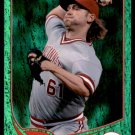 2013 Topps Baseball Emerald Foil Parallel #161  Bronson Arroyo