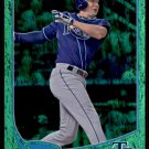 2013 Topps Baseball Emerald Foil Parallel #177  Elliott Johnson