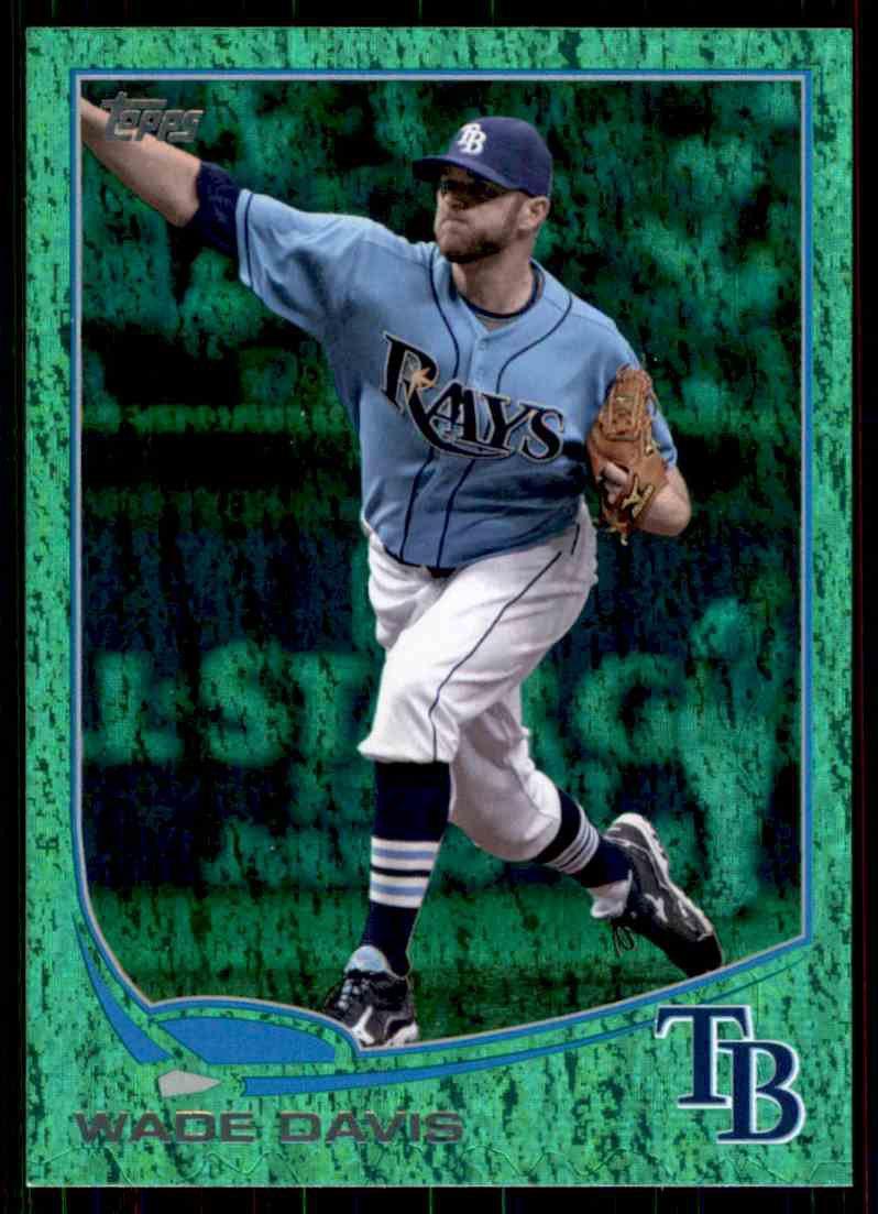 2013 Topps Baseball Emerald Foil Parallel #140  Wade Davis