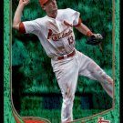 2013 Topps Baseball Emerald Foil Parallel #193  Matt Carpenter