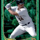 2013 Topps Baseball Emerald Foil Parallel #98  Gaby Sanchez