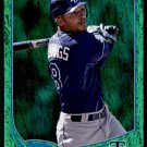 2013 Topps Baseball Emerald Foil Parallel #308  Desmond Jennings