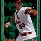 2013 Topps Baseball Emerald Foil Parallel #50  Adam Wainwright