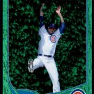 2013 Topps Baseball Emerald Foil Parallel #209  David DeJesus