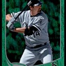 2013 Topps Baseball Emerald Foil Parallel #14  Paul Konerko