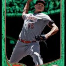 2013 Topps Baseball Emerald Foil Parallel #155  Mat Latos