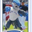2012 Topps Baseball Opening Day Mascot #M-3  Toronto Blue Jays