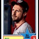 2018 Topps Baseball Series 2  1983 Insert #83AS-20  Max Scherzer