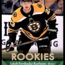 2017-18 Parkhurst Hockey Rookies #268  Jakob Forsbacka-Karlsson  Boston Bruins