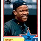 2018 Topps Baseball Series 2  1983 Insert #83AS-50  Rickey Henderson