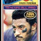 1977 Topps Football #500  Chuck Foreman