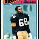 1977 Topps Football #355  L.C. Greenwood  Pittsburgh Steelers