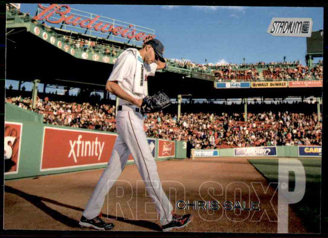 2018 Topps Baseball Stadium Club  #71  Chris Sale  Boston Red Sox