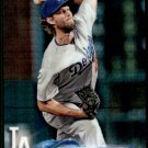2018 Topps Chrome Baseball Prism Refractor   #121  Clayton Kershaw  Los Angeles Dodgers