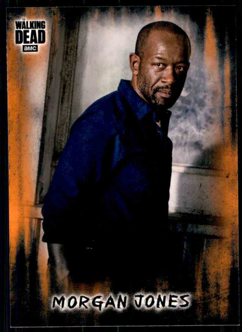 2018 Topps The Walking Dead Hunters Hunted RUST Parallel #14  Morgan Jones