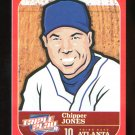 2012 Panini Triple Play #17  Chipper Jones