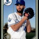 2017 Topps Baseball Chrome #87T-19  Danny Duffy  KC Royals