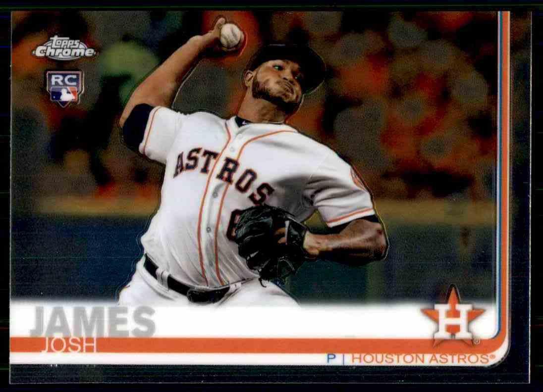 2019 Topps Chrome Baseball #55  Josh James  RC