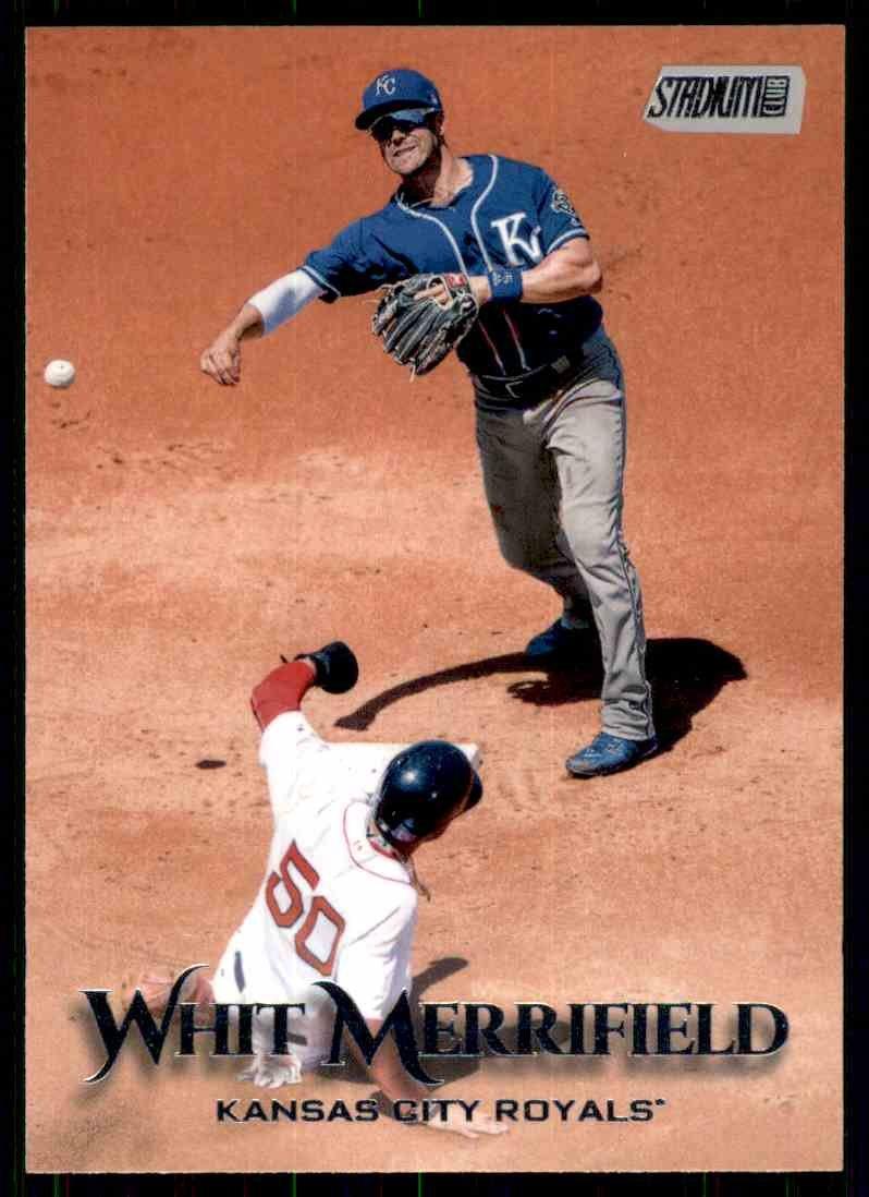 2019 Topps Baseball Stadium Club #177  Whit Merrifield