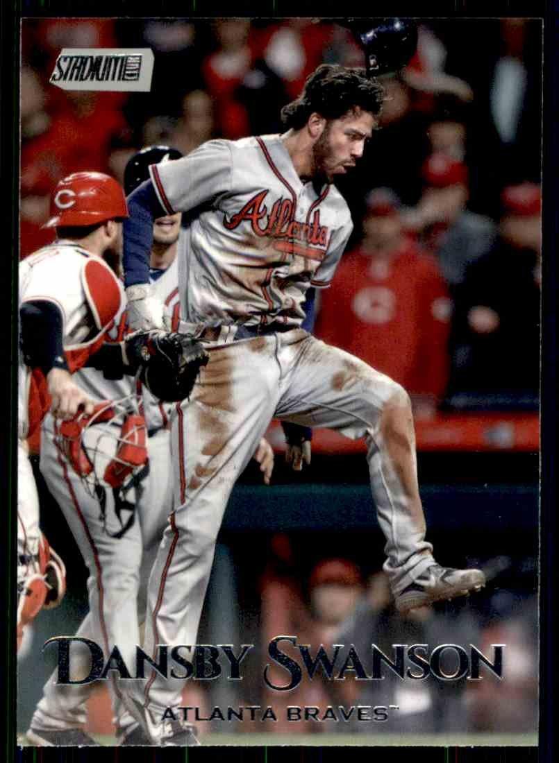2019 Topps Baseball Stadium Club #82  Dansby Swanson