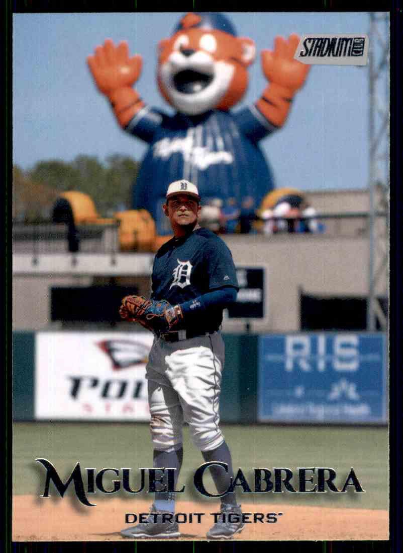 2019 Topps Baseball Stadium Club #138  Miguel Cabrera