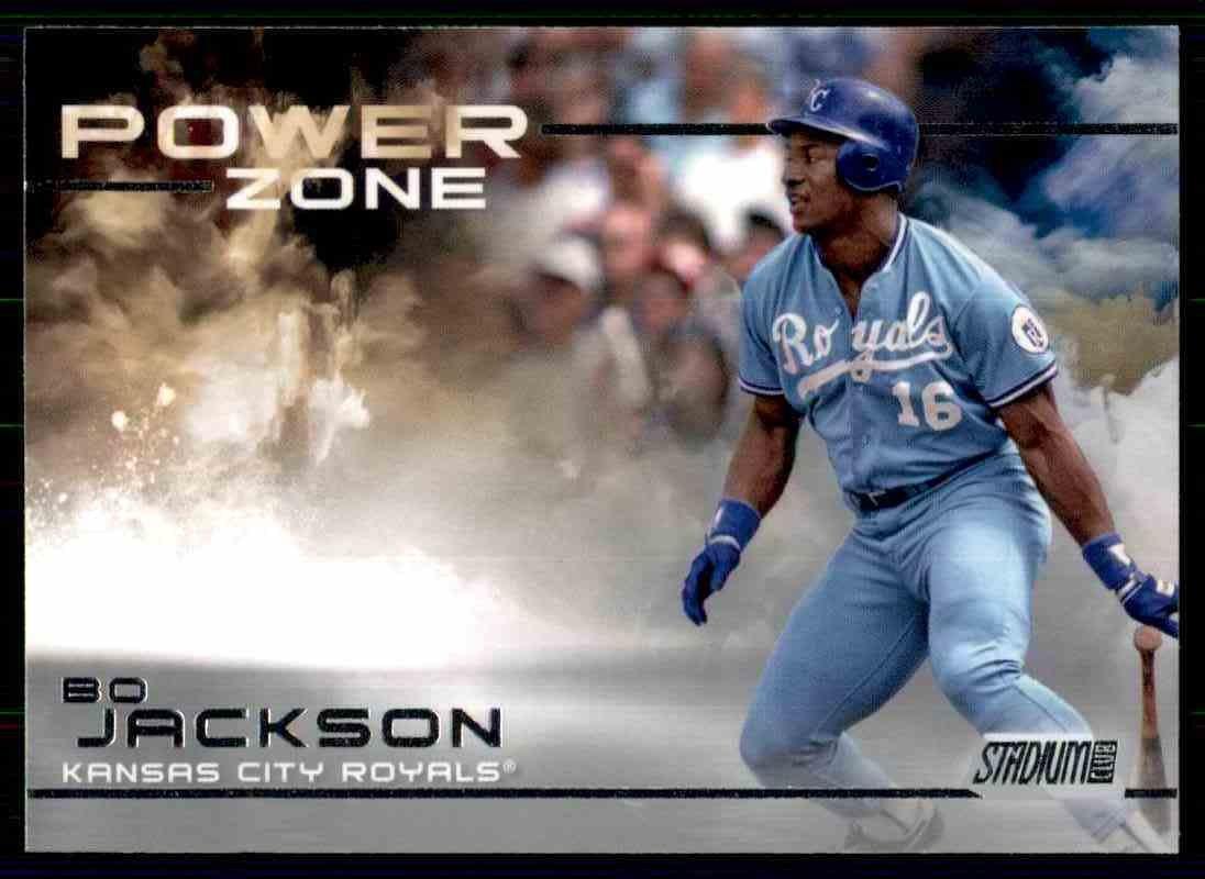 2019 Topps Baseball Stadium Club #PZ-22  Bo Jackson  Power Zone