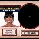 2015 Panini Americana  Albums  #2  Kelly Rowland  Simply Deep 2002